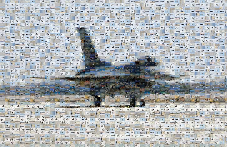 Airforce F-4866 Mosaic  Photograph