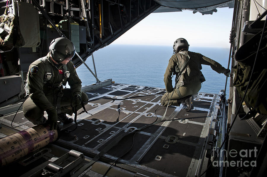 Airmen Wait For The Signal To Deploy Photograph