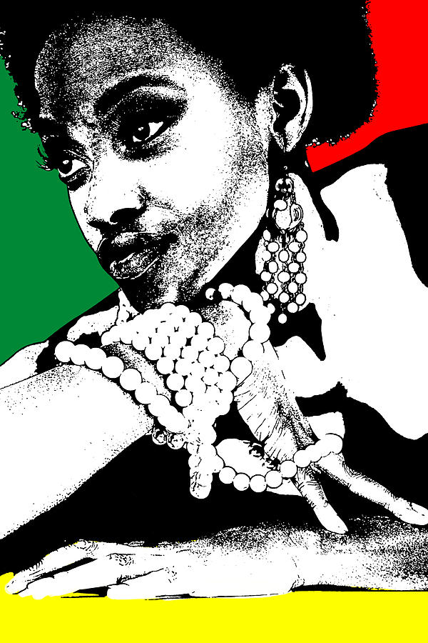 African Photograph - Aisha Jamaica by Naxart Studio
