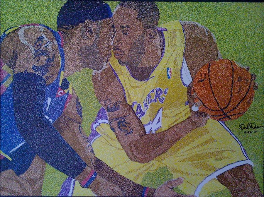 Celebrity Painting - aking You To Scool by David Duerson