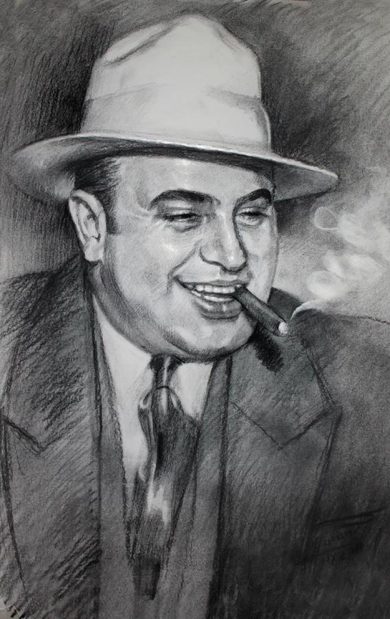 Al Capone  Drawing