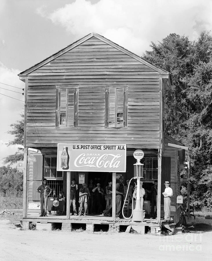 Alabama: Post Office Photograph