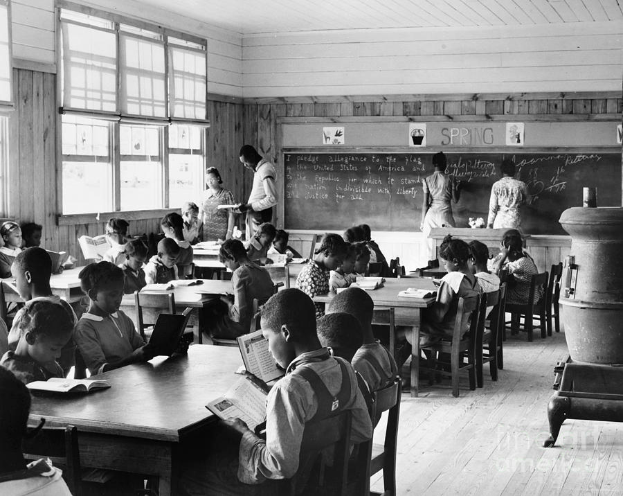 Alabama: Schoolhouse, 1939 Photograph