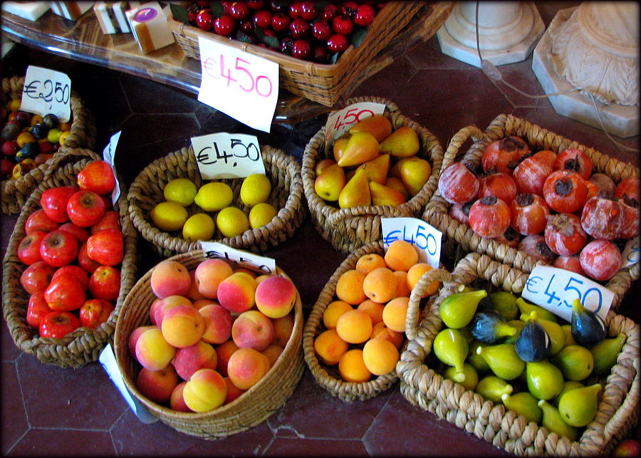 Alabaster Fruit Photograph