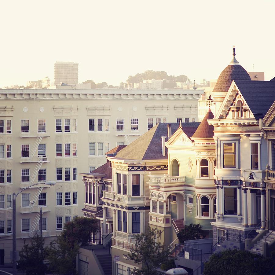 Alamo Square, San Francisco Photograph