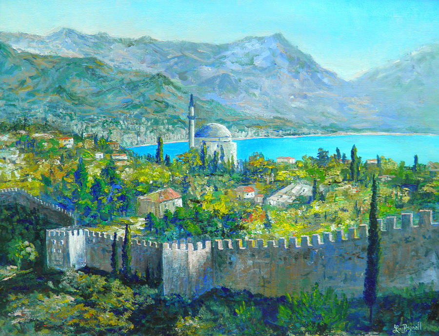 Alanya Turkey Painting  - Alanya Turkey Fine Art Print