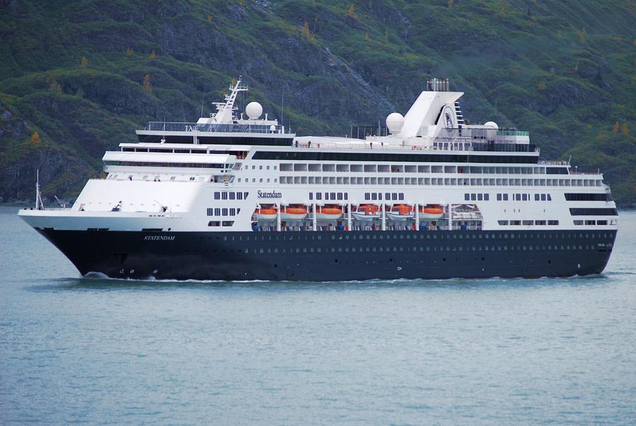 Alaska Cruise Ship 1 By Joseph R Luciano
