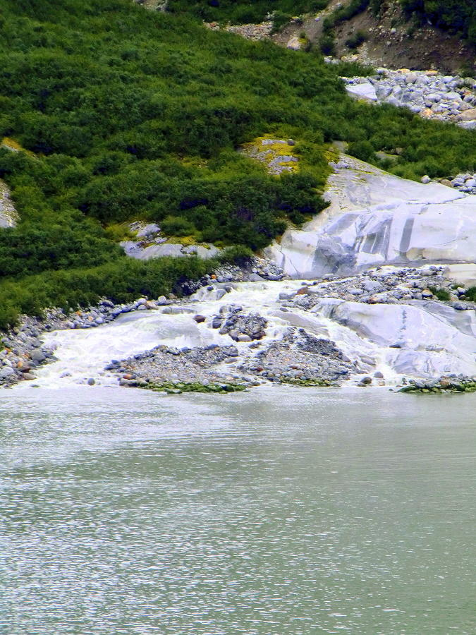 Alaskan Ice Melt Photograph