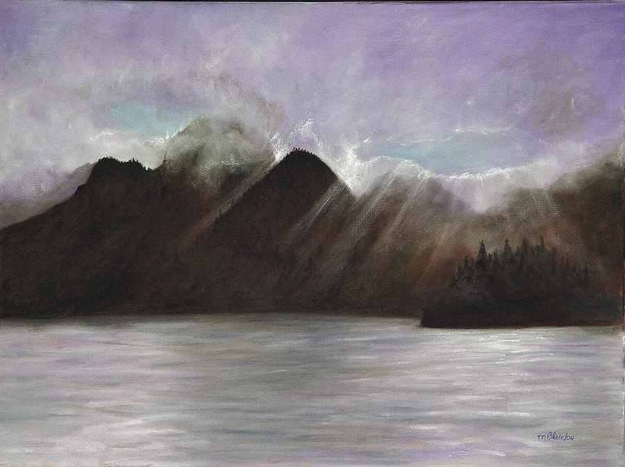Alaskan Morning Painting