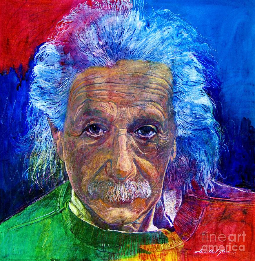Albert Einstein By David Lloyd Glover