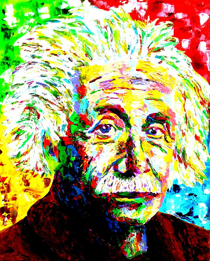 Albert Einstein By Mike OBrien