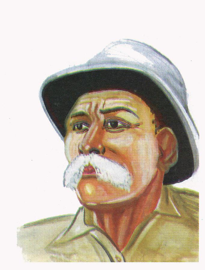 Albert Schweitzer Painting