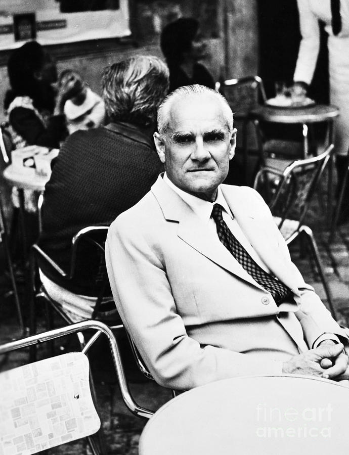 Alberto Moravia (1907-1990) Photograph
