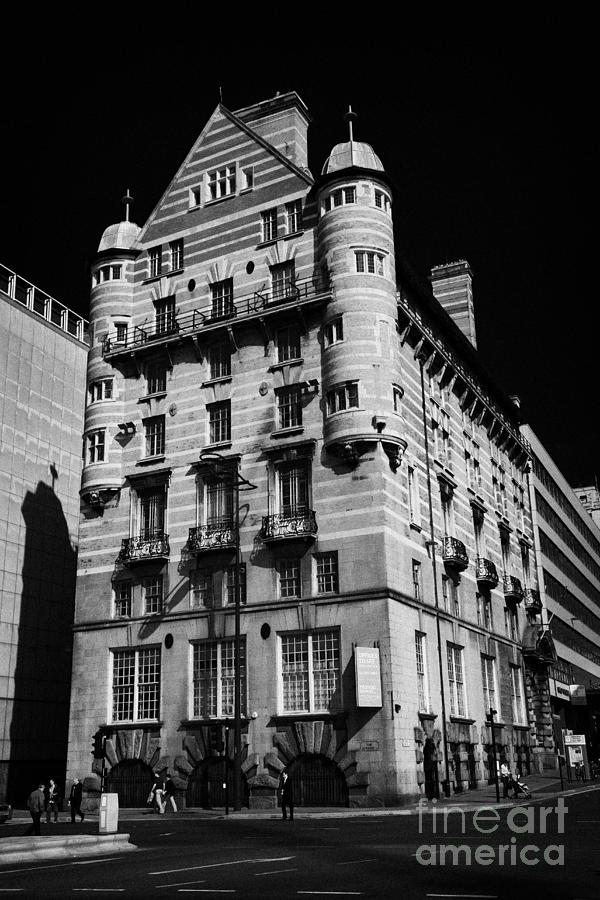 Albion House James Street Liverpool Former Offices Of The White Star Line  Photograph  - Albion House James Street Liverpool Former Offices Of The White Star Line  Fine Art Print