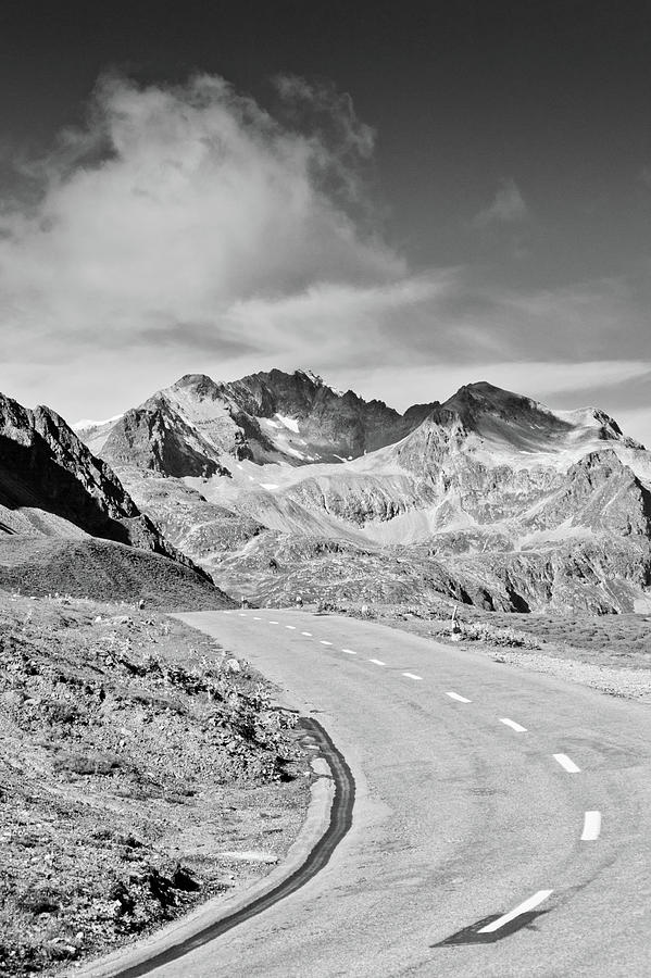 Albula Pass Road Photograph