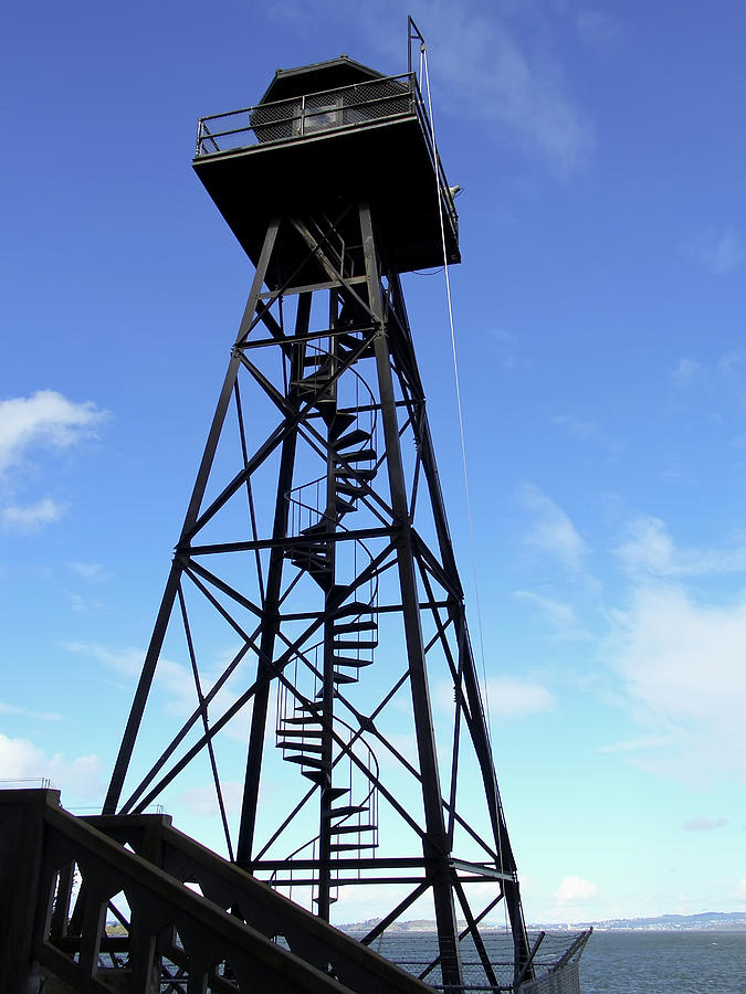 Alcatraz Guard Tower - San Francisco Photograph  - Alcatraz Guard Tower - San Francisco Fine Art Print