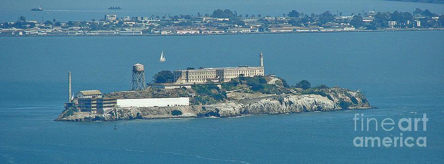 Alcatraz In April Photograph