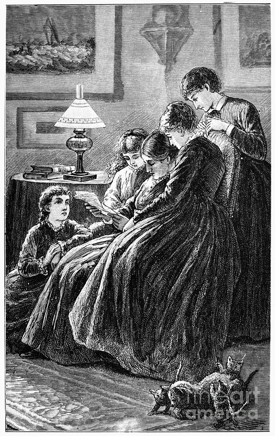 Alcott: Little Women Photograph  - Alcott: Little Women Fine Art Print