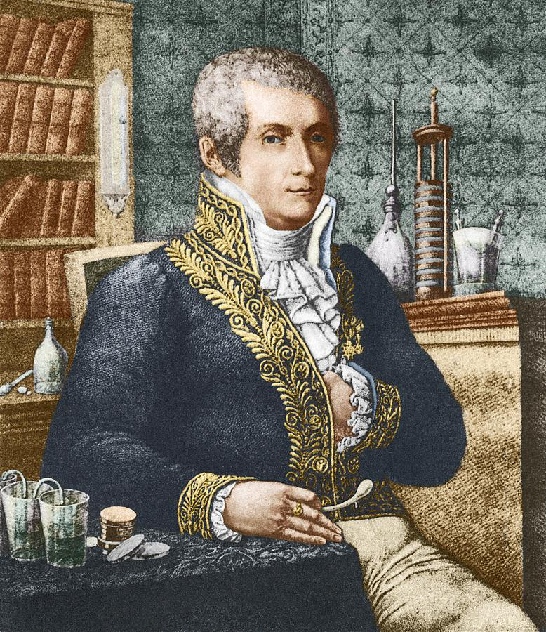 Alessandro Volta, Italian Physicist Photograph by Sheila Terry