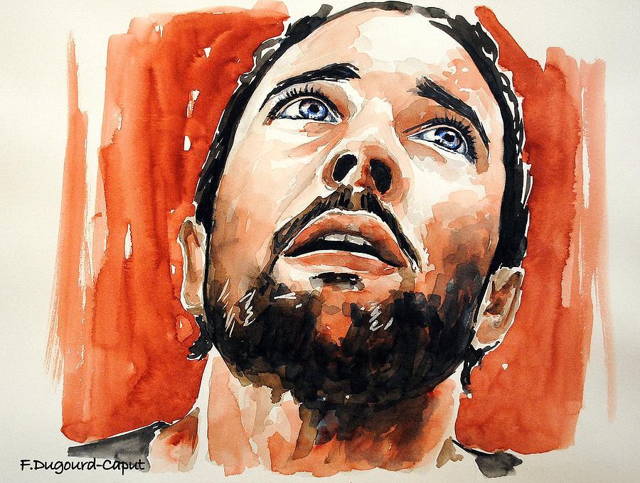 Alex Oloughlin Painting