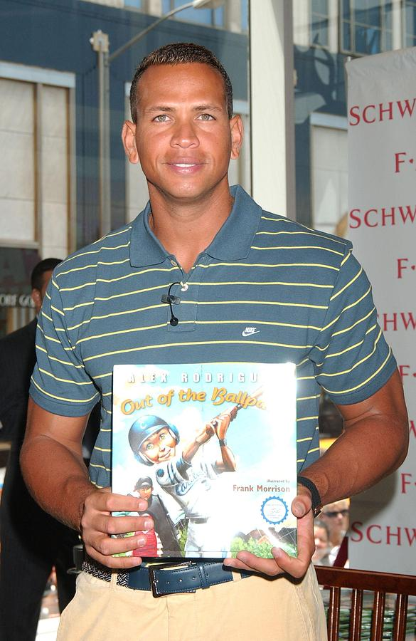 Alex Rodriguez At In-store Appearance Photograph