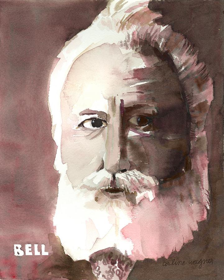 Alexander Graham Bell Painting