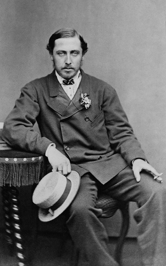 Alfred, Duke Of Saxe-coburg And Gotha Photograph