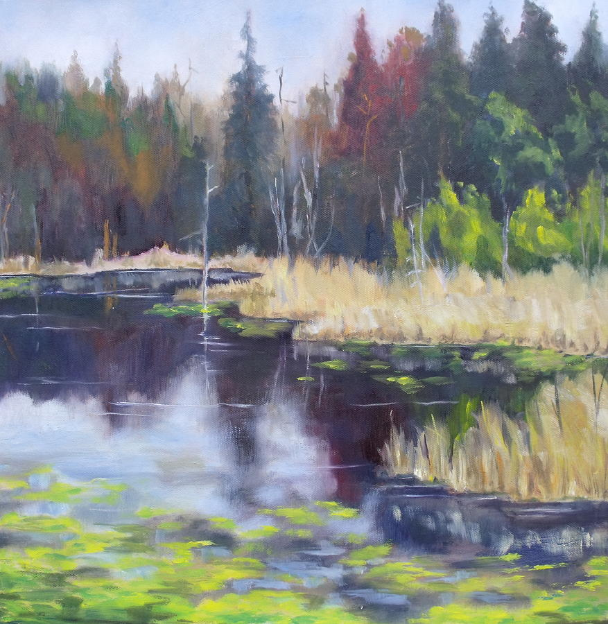 Algonquin Marsh Painting