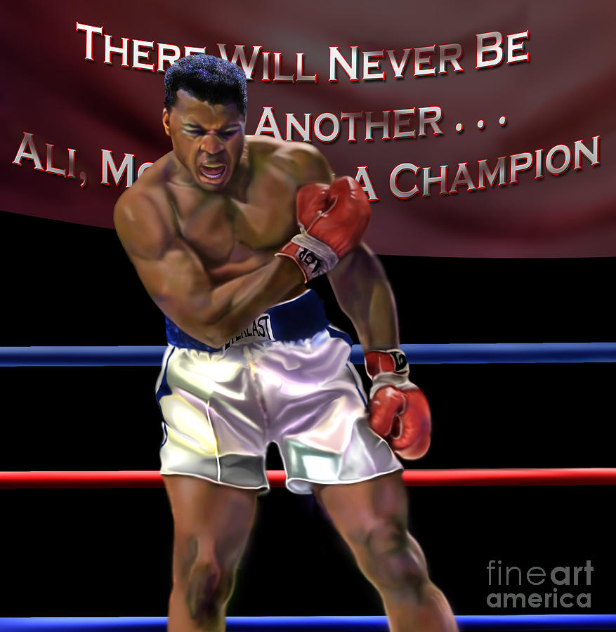 Ali - More Than A Champion Painting  - Ali - More Than A Champion Fine Art Print