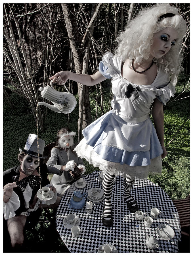 Alice And Friends 1 Photograph  - Alice And Friends 1 Fine Art Print