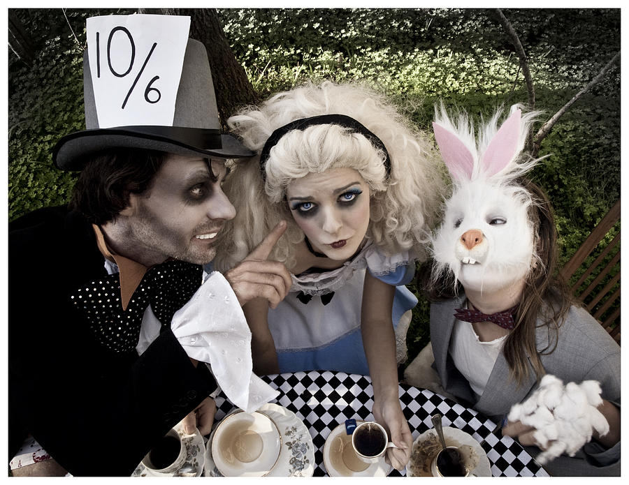Alice And Friends 2 Photograph  - Alice And Friends 2 Fine Art Print