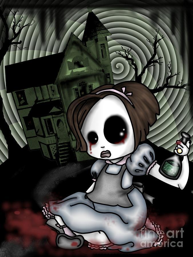 Alices Childhood Digital Art