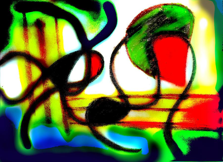 Chalk Digital Art - Alien Aracno Surgery 2 by Stephanie Margalski