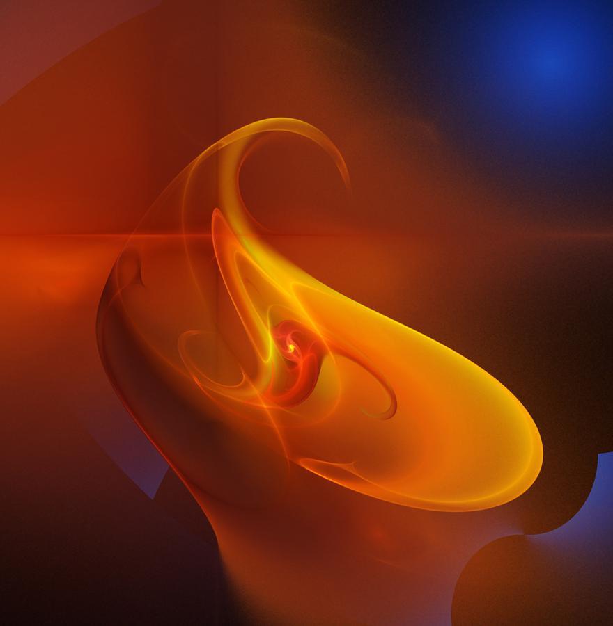 Alien Flower Digital Art