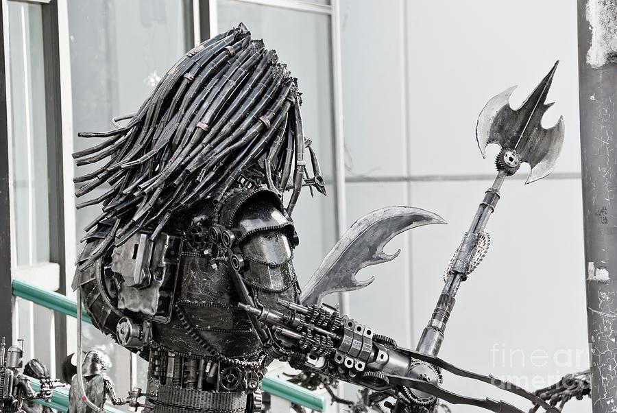 Alien Predator Sculpture