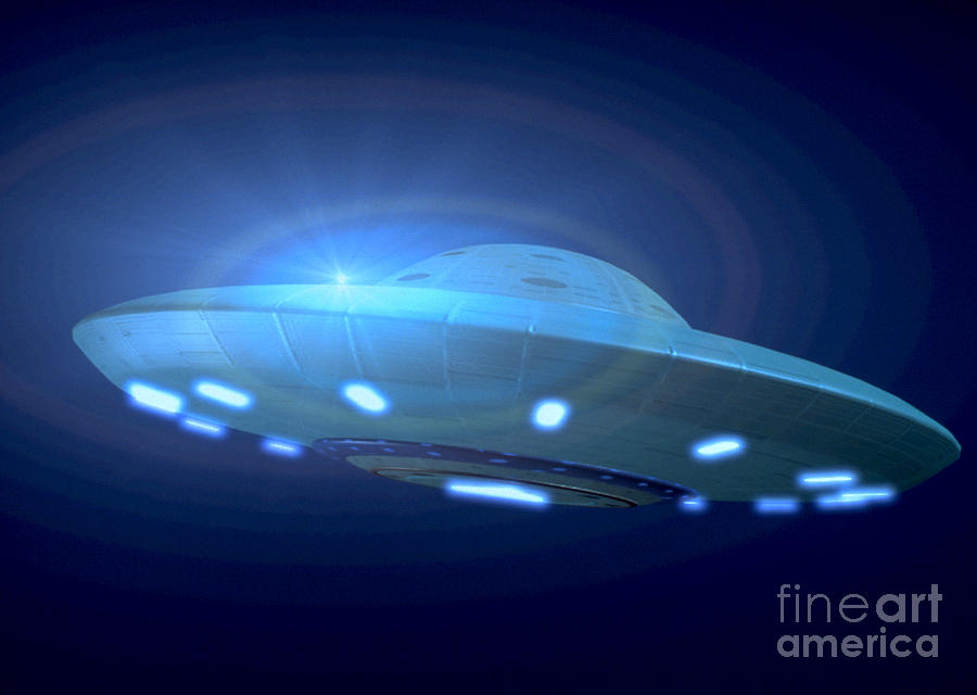 Alien Spacecraft Photograph