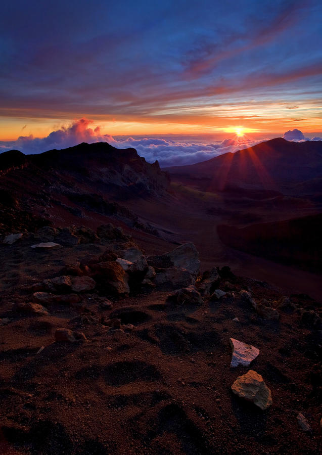 Alien Sunrise Photograph