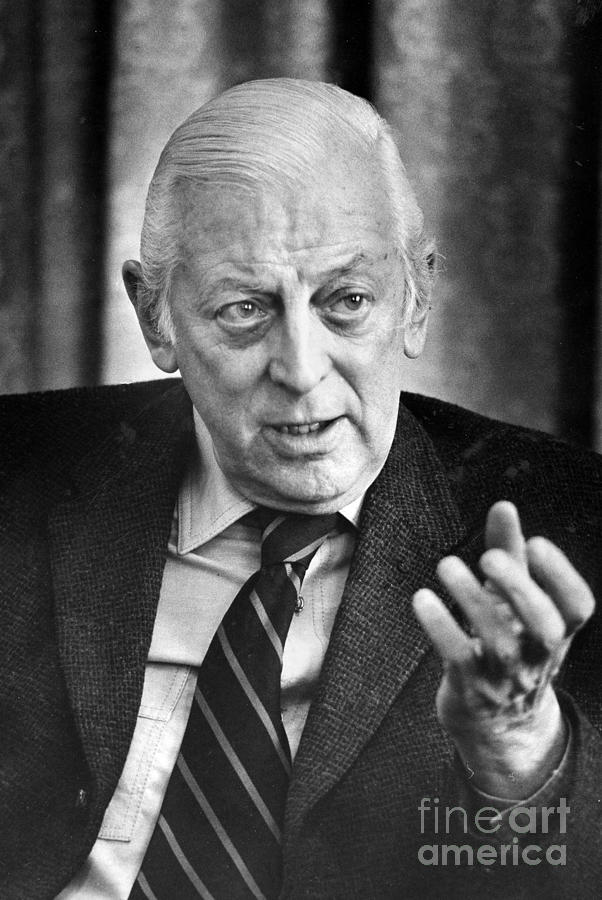 Alistair Cooke (1908-2004) Photograph