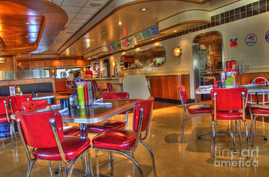 Rubys Photograph - All American Diner 5 by Bob Christopher