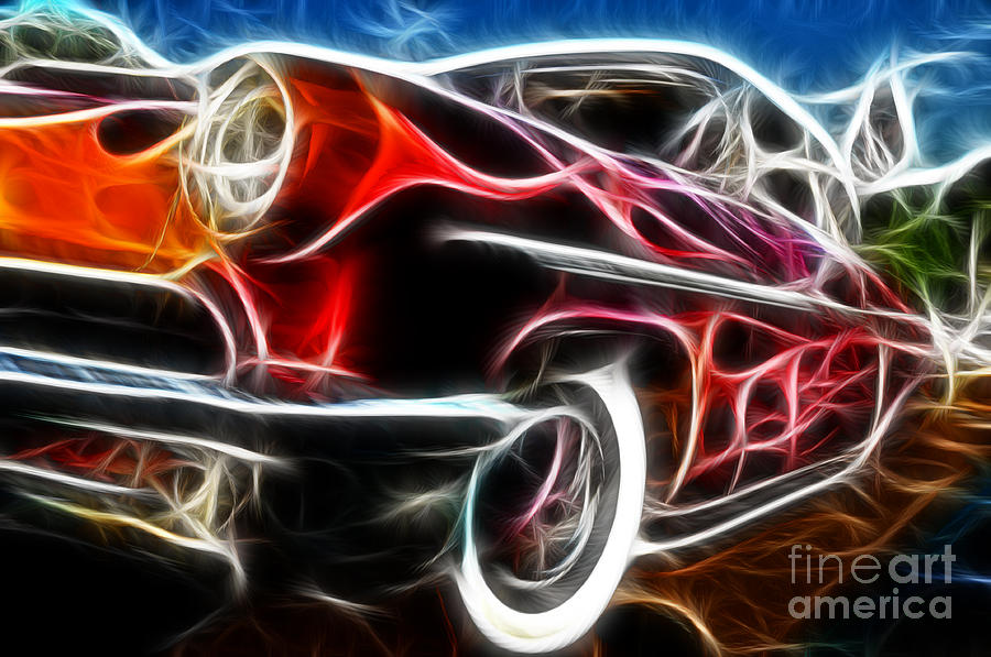 All American Hot Rod Photograph - All American Hot Rod by Paul Ward