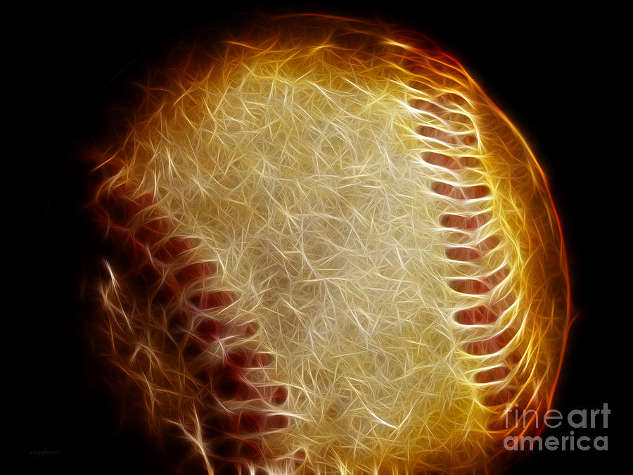 All American Pastime - The Fastball Photograph