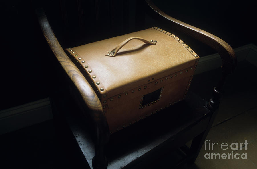 Chair Photograph - All I Have by Bob Christopher