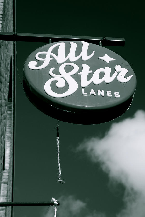 All Star Lanes Photograph  - All Star Lanes Fine Art Print