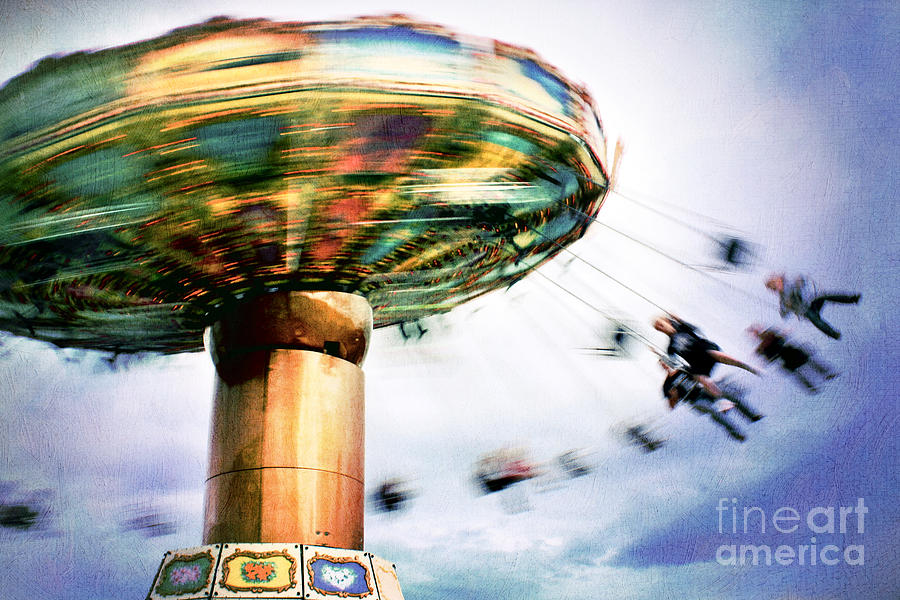All The Fun Of The Fair Photograph  - All The Fun Of The Fair Fine Art Print
