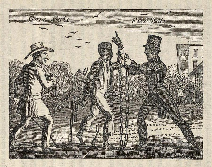 Allegorical Illustration Of A Slave�s Photograph  - Allegorical Illustration Of A Slave�s Fine Art Print