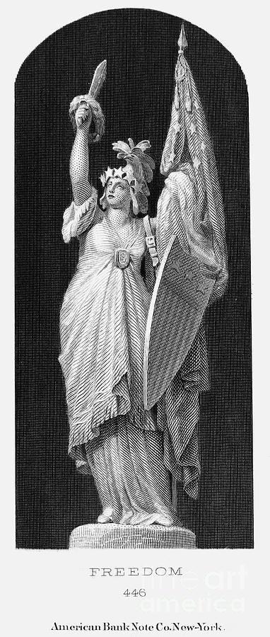 Allegory: Columbia, 1870 Photograph  - Allegory: Columbia, 1870 Fine Art Print