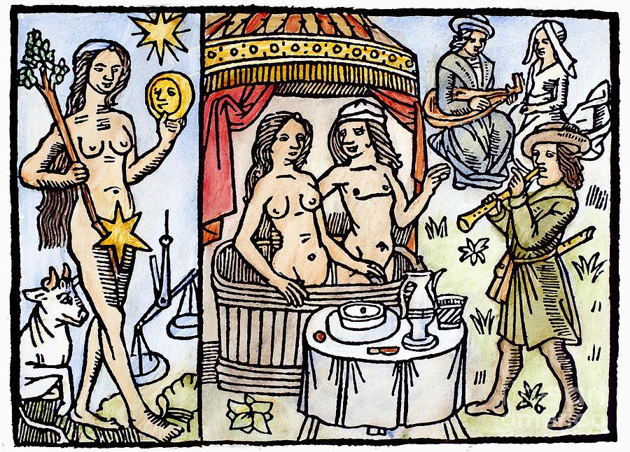 Allegory Of Venus, 1496 Photograph