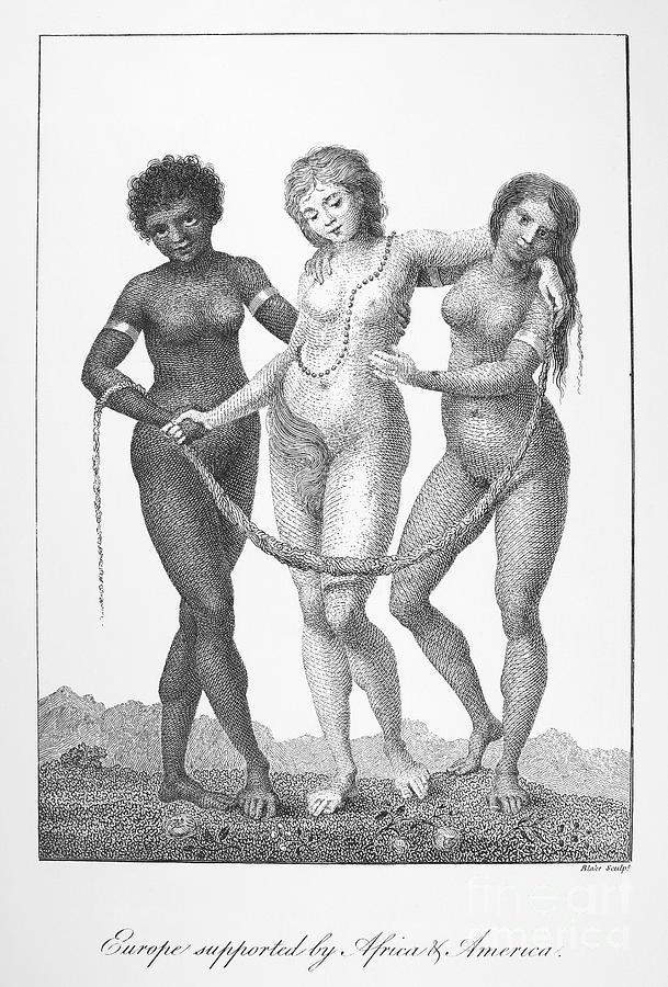 Allegory: Slave Trade, 1796 Photograph