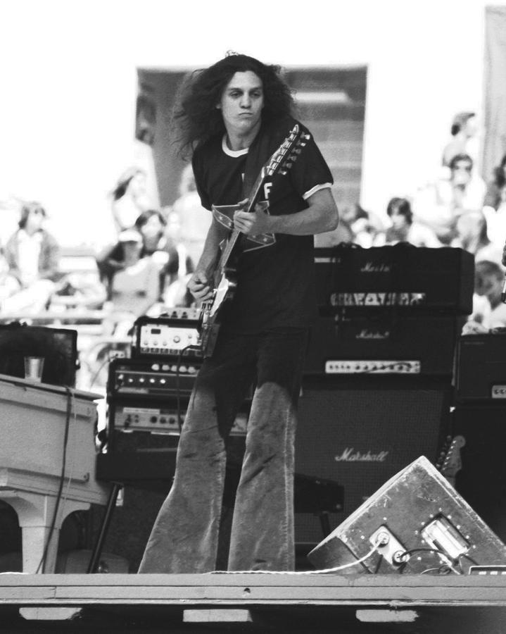 Allen Collins In Oakland 1975 Photograph  - Allen Collins In Oakland 1975 Fine Art Print