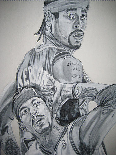 Allen Iverson Drawing
